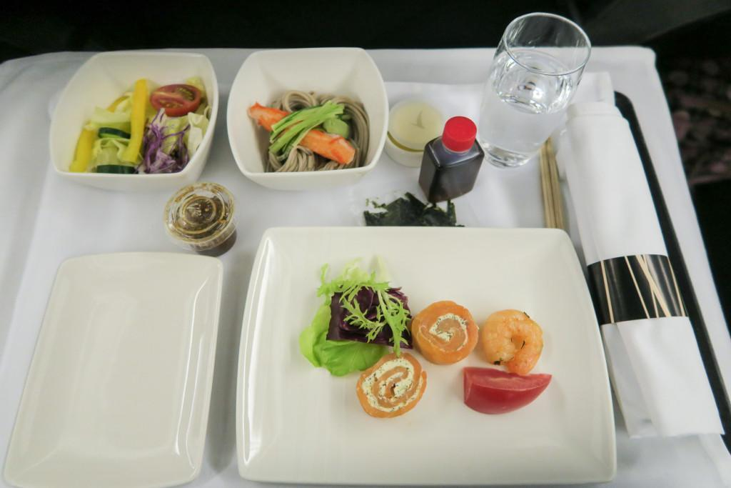 Starter course on Cathay Pacific regional business class