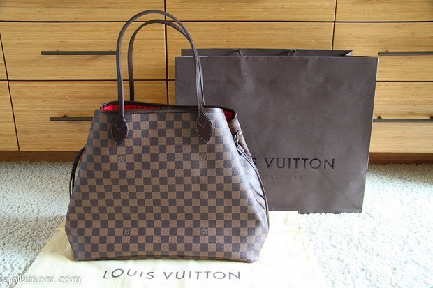 Louis Vuitton Neverful Gm Handbag In Damier Canvas Why I