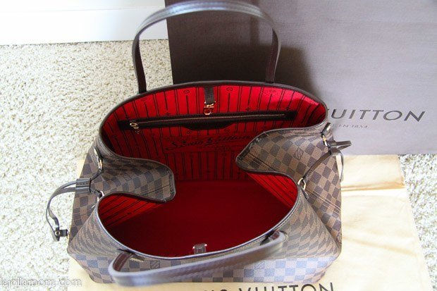 Louis Vuitton Neverful GM Handbag In Damier Canvas  Why I Own It c9af76572e66c