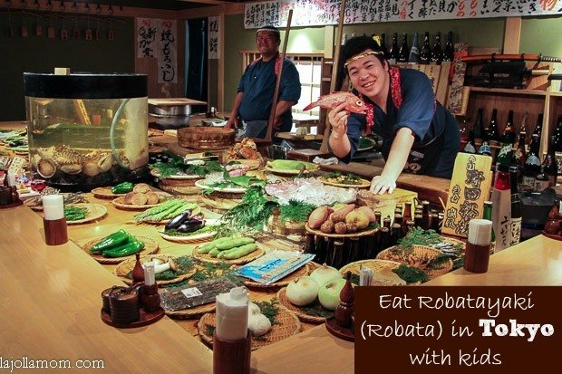 Post image for Japanese Food:  Why All Ages Love Robatayaki (Robata)
