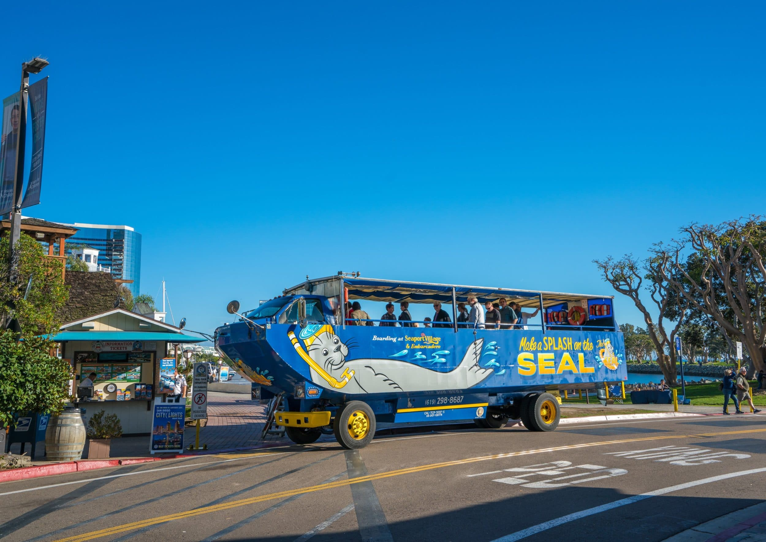 San Diego Seal Tours are one of the best things to do in San Diego with kids.