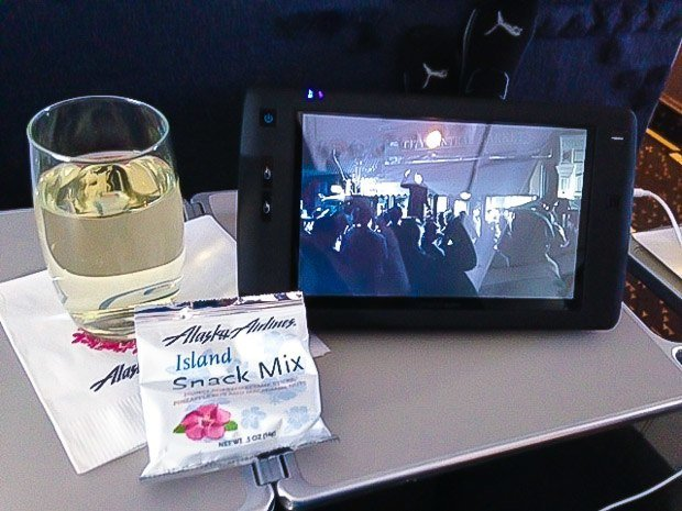 Alaska Airlines Inflight Entertainment digeplayer