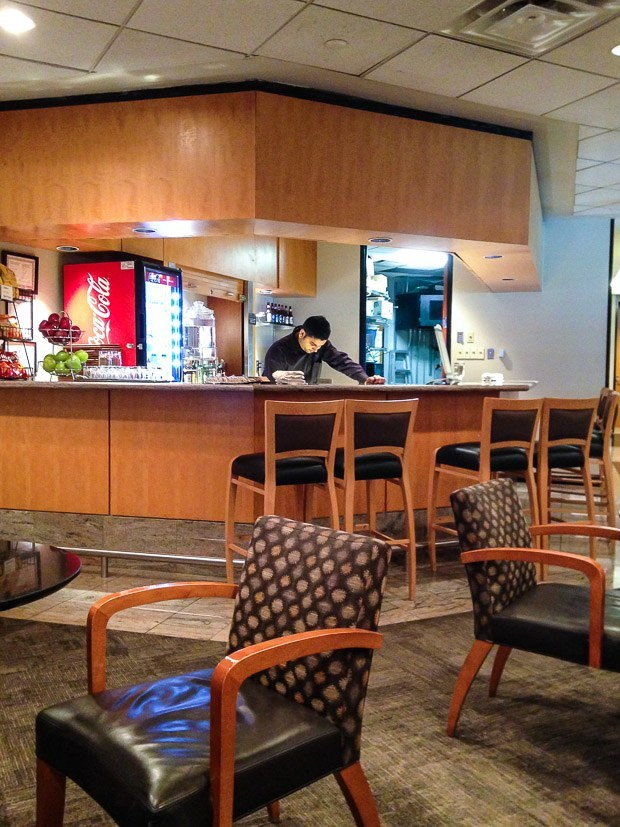 Lounge Report: American Airlines Admirals Club Toronto YYZ