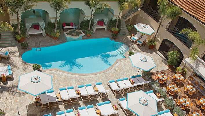Beverly Wilshire Pool