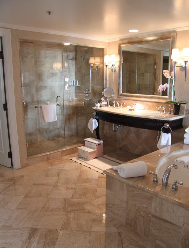 St. Regis Monarch Beach Family Traditions Suite bathroom