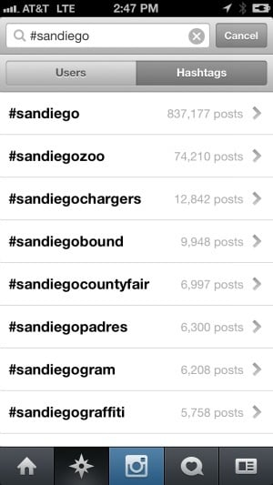 Instagram Travel Hashtags City