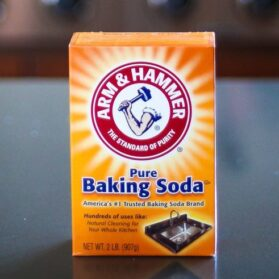 Clean Wood Cabinetry And Furniture Stains With Baking Soda