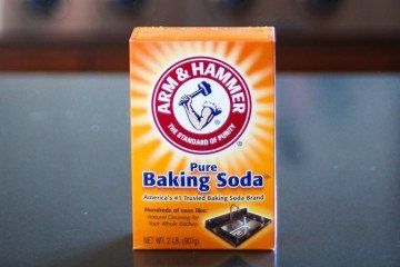 baking soda for household cleaning