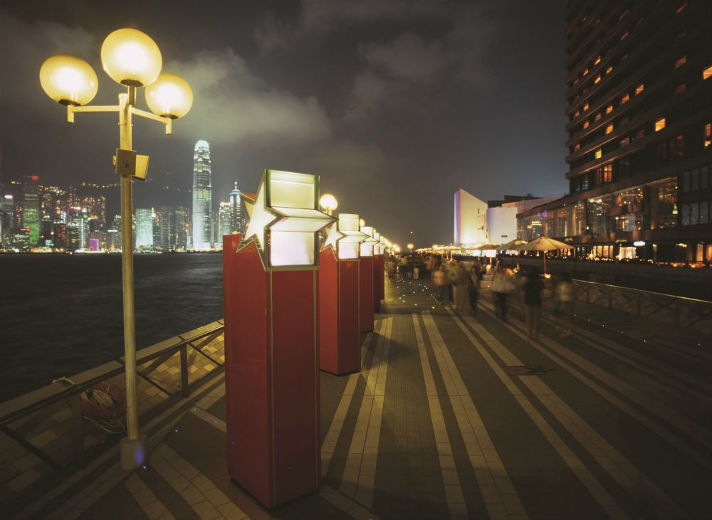 When in Hong Kong with kids walk the Avenue of the Stars in Kowloon. The views are stunning.