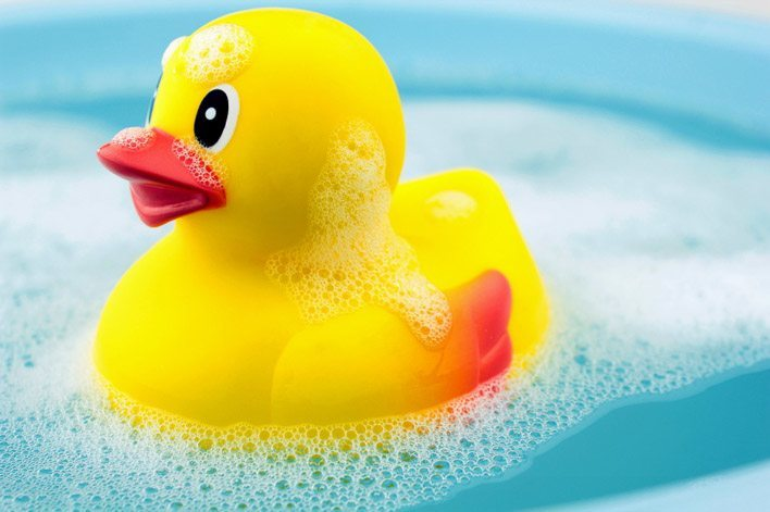 How To Clean Bath Toys Rubber Duck Mold