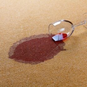 How To Handle Red Wine Spills On Rugs, Carpet & Upholstery