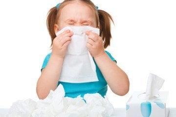 when to keep sick preschooler home from school