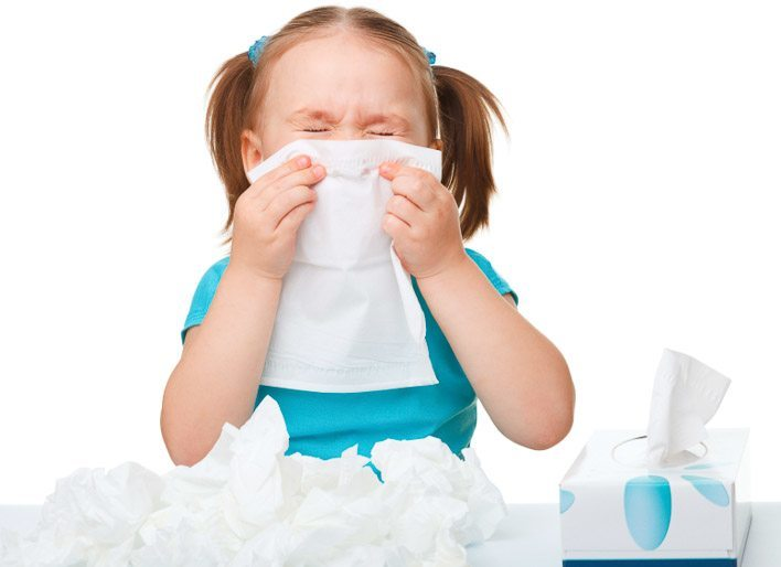 when to keep sick preschooler home from school