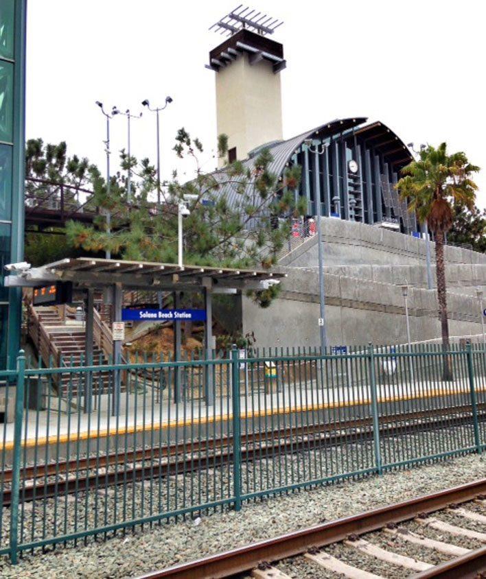 Amtrak Pacific Surfliner From San Diego To San Juan Capistrano