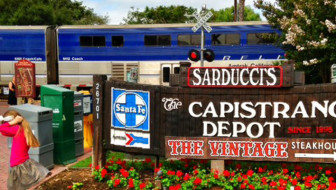 Amtrak Pacific Surfliner From San Diego To San Juan Capistrano