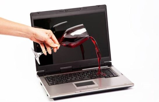 How To Rescue Your Laptop From Wine Or Water Spills