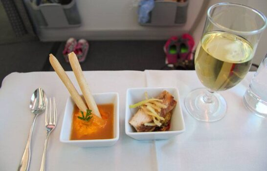 Survey Results: Which Airline Has The Healthiest Food?