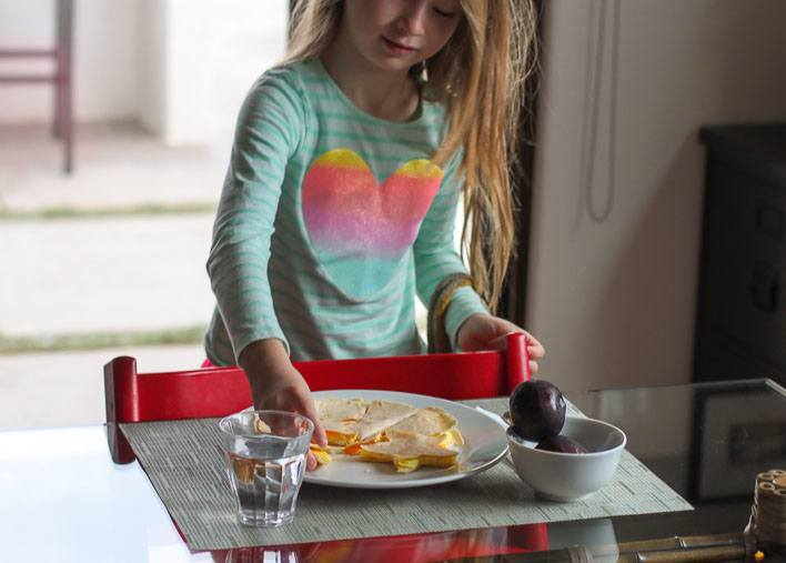 Kids Breakfast Recipes: Easy Microwave Egg Puzzle