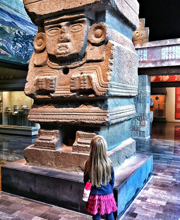 National Museum of Anthropology Mexico City kids