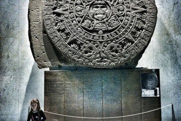 National Museum of Archaeology in Mexico City with kids
