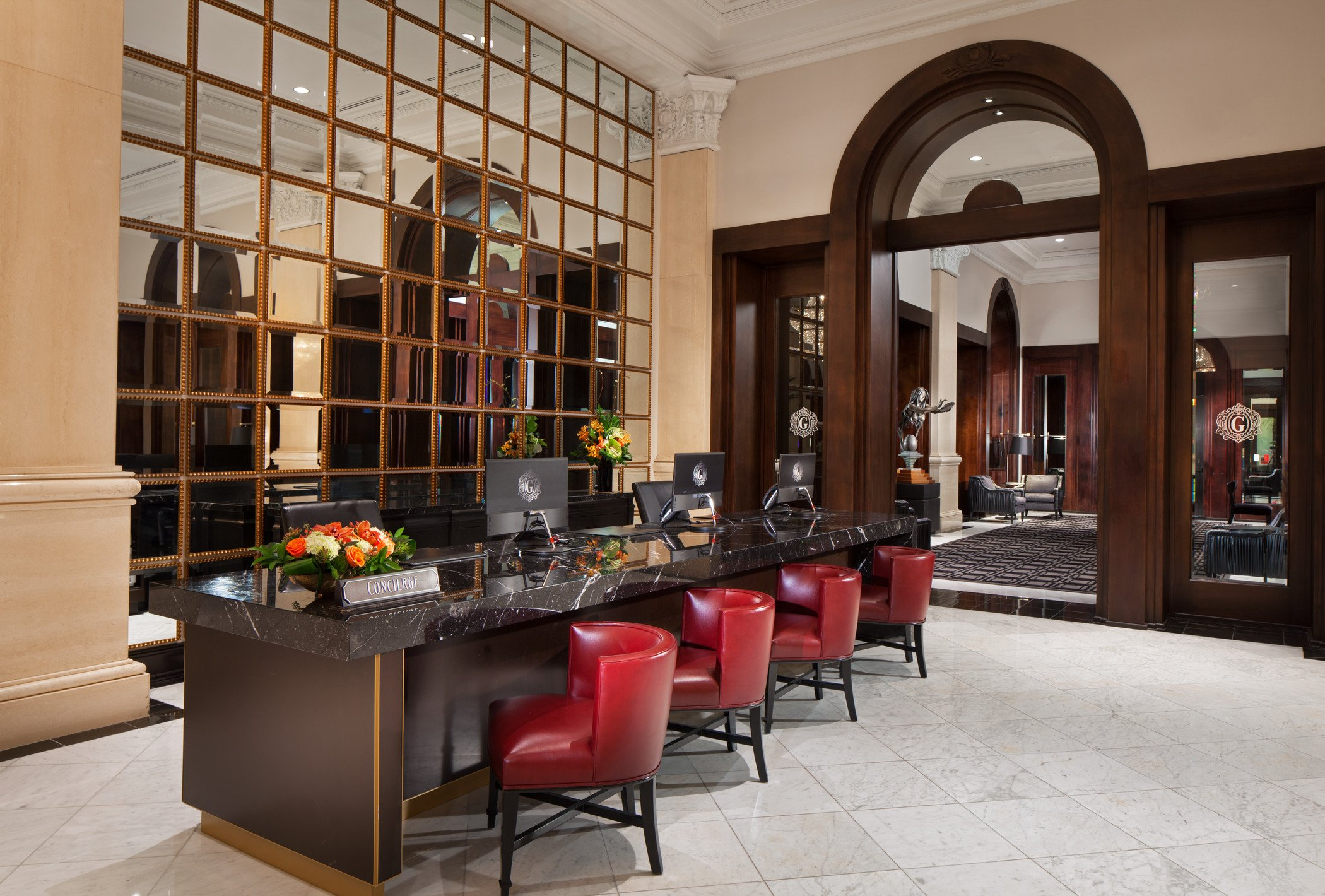 Concierge desk at THE US GRANT, a Luxury Collection Hotel in San Diego