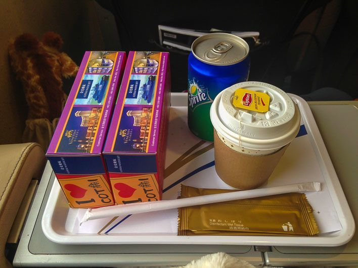 Hong Kong to Macau Taipa Ferry Terminal on Cotai Water Jet - Breakfast Food