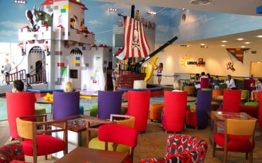 LEGOLAND California Hotel with Kids-Play Structures
