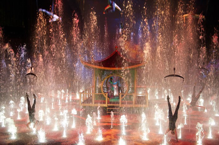 Macau with Kids- House of Dancing Water Show at City of Dreams