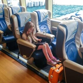 What to Expect in First Class on Cotai Water Jet from Hong Kong to Macau