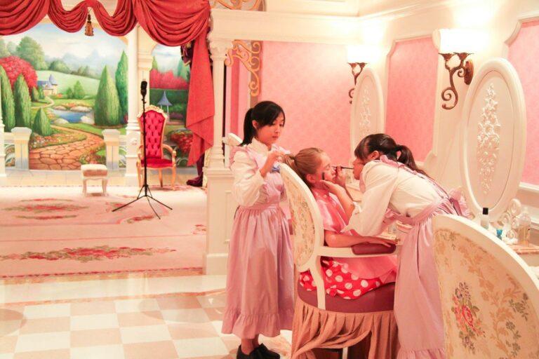 Little Girls Become Princesses At Hong Kong Disneyland's Bibbidi Bobbidi Boutique