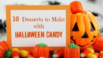 Desserts to make with Halloween Candy from Pinterest