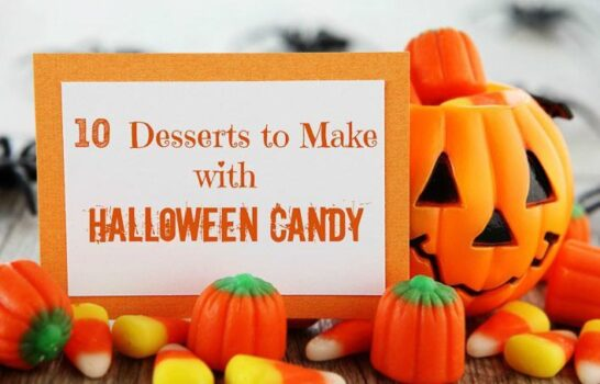 10 Desserts To Make With Leftover Halloween Candy