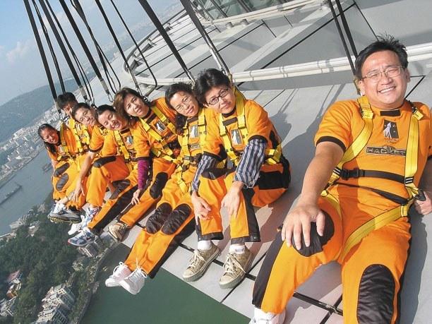 Macau Tower AJ Hacket