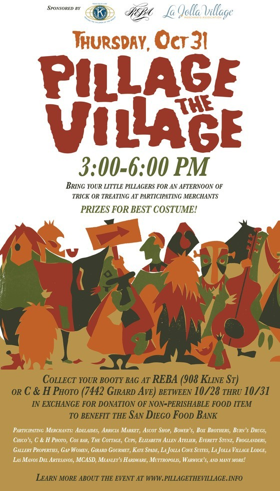 Pillage The Village On Halloween In La Jolla