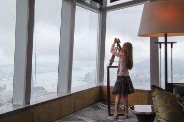 The Ritz Carlton Hong Kong With Kids