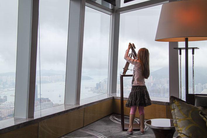 The Ritz Carlton Hong Kong With Kids