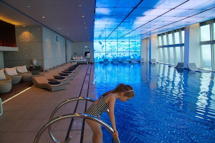 The Ritz Carlton Hong Kong With Kids Pool