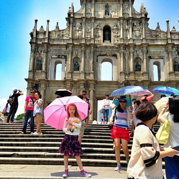 Things to do in Macau with kids-Ruins of St. Paul