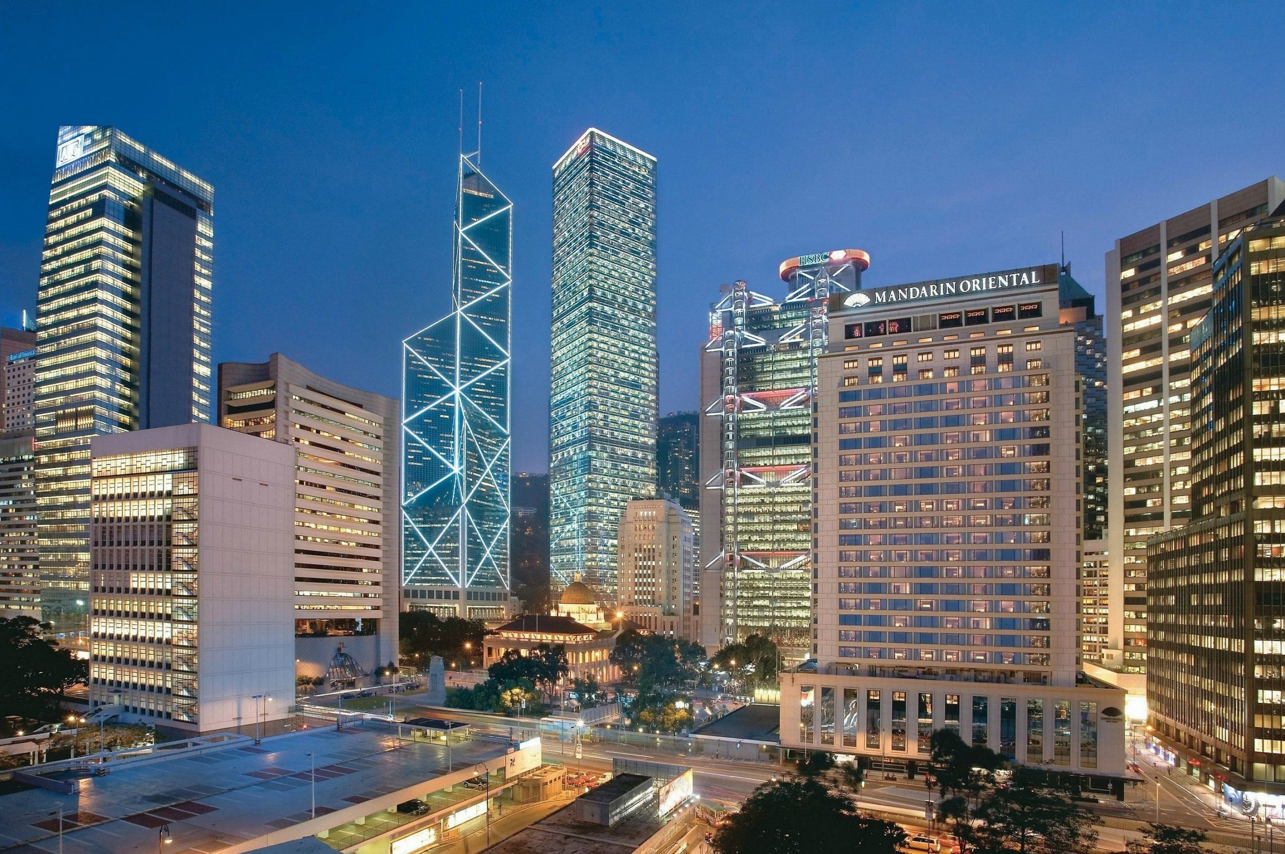 Mandarin Oriental, Hong Kong is one of the best luxury hotels in the world.