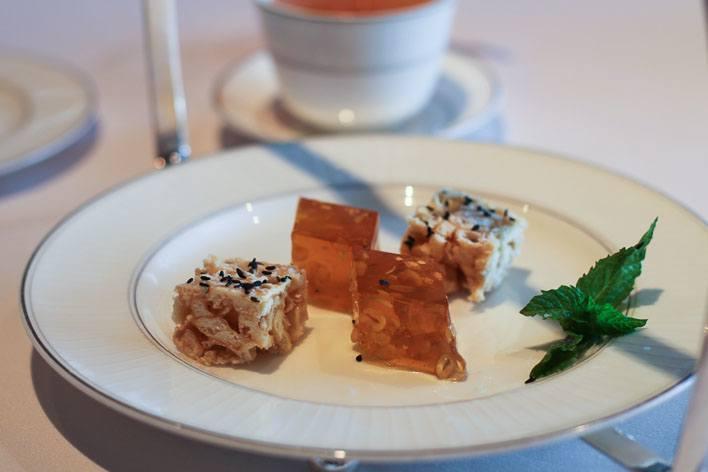 Lung King Heen Hong Kong Chinese Food Petit Fours