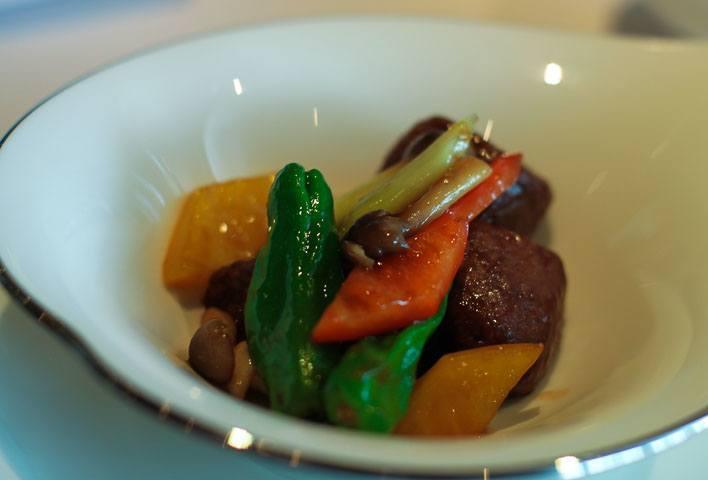 Lung King Heen Michelin Cantonese Hong Kong Beef Tenderloin