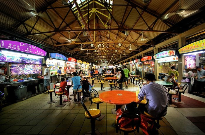 Maxwell Road Hawker Centre - Photo courtesy of the Singapore Tourism Board