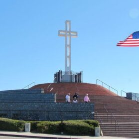 Show Kids Why They Have a School Holiday at Mt. Soledad Veterans Memorial
