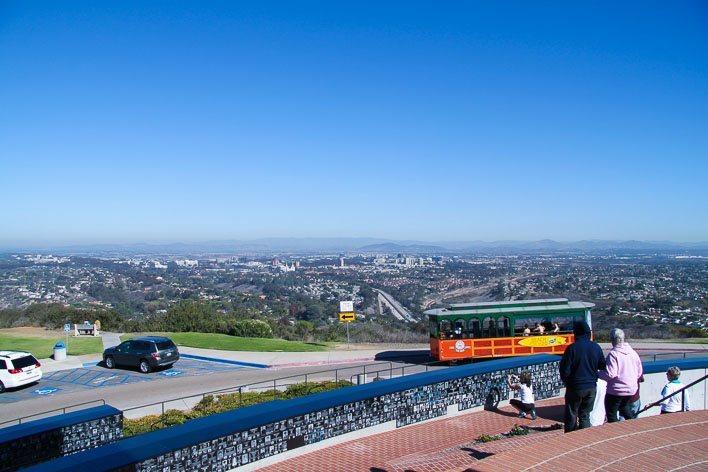 Honoring Military At Mt Soledad Veterans Memorial In La Jolla