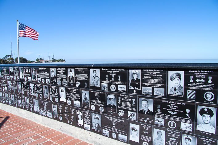 Mt Soledad Veterans Memorial La Jolla Soldiers