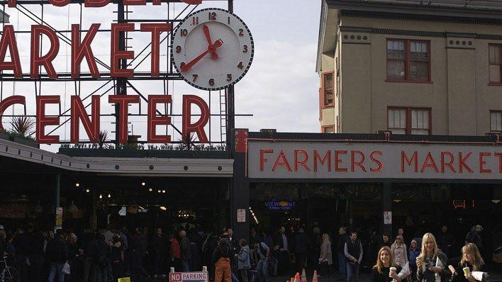 Pike Place Market in Seattle Washington