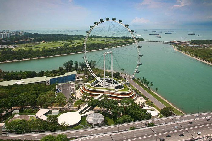 Singapore Flyer - Photo courtesy of the Singapore Tourism Board - Photographer- Mori Hidetaka