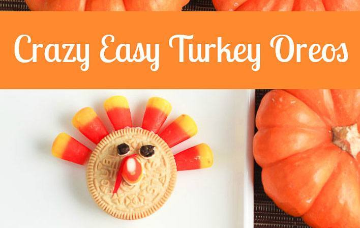 Thanksgiving turkey dessert cookies