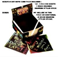ebay scratch art cube gift