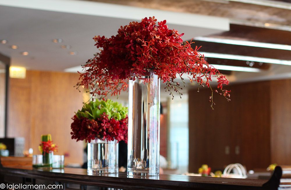 Orchids at Lung King Heen, the Michelin 3-star Chinese restaurant in Four Seasons Hotel Hong Kong